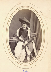 MIRAJ: The Hon. Ganpatrao, Chief of Miraj (fl.1870s).